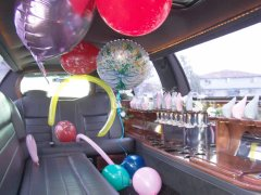 Limo services make a birthday perfect