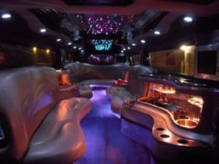 Austin limo with luxurious interior