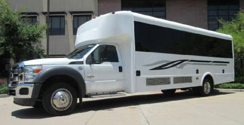 Executive Shuttle Bus Austin Exterior