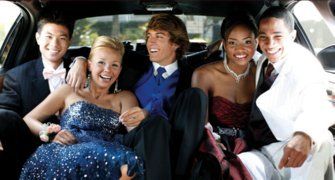 Austin limousine for prom