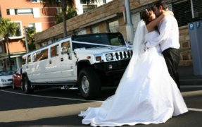 Wedding limo service Austin